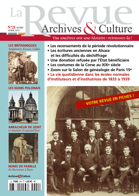 Revue Archives & Culture n° 21