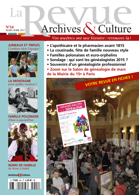 Revue Archives & Culture n° 14