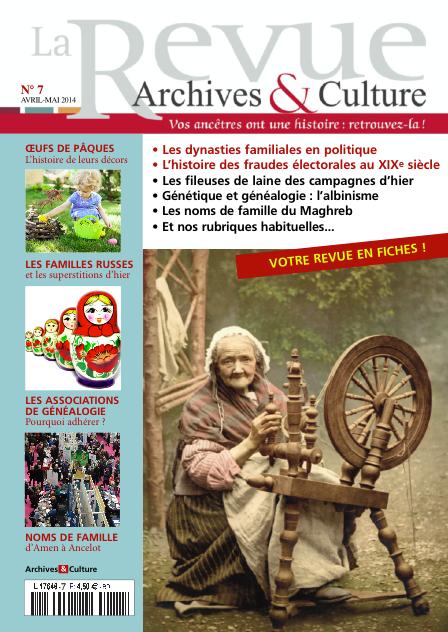 Revue Archives & Culture n° 7