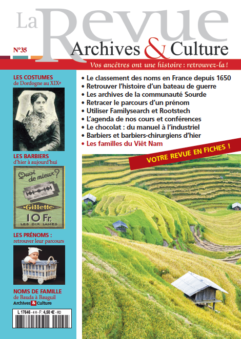 Revue Archives & Culture n° 35