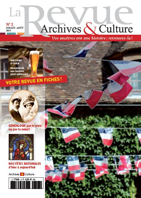 Revue Archives & Culture n° 2
