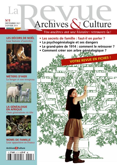 Revue Archives & Culture n° 5