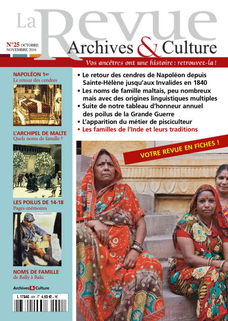 Revue Archives & Culture n° 25