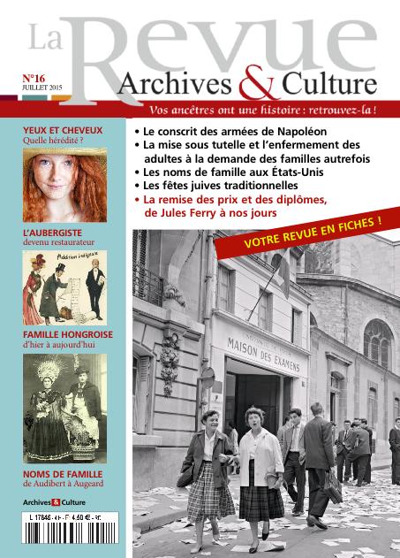 Revue Archives & Culture n° 16