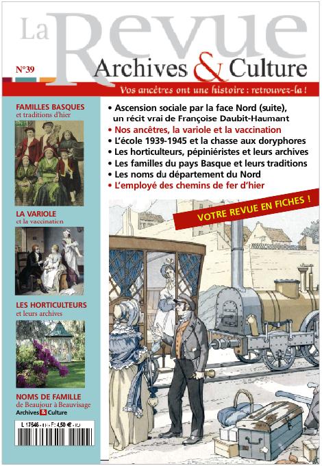 Revue Archives et Culture n° 39