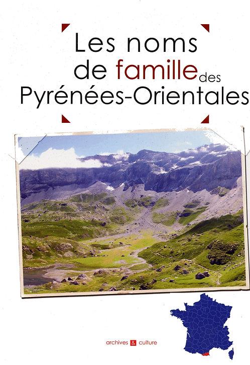 Les noms de famille des Pyrénées-Orientales