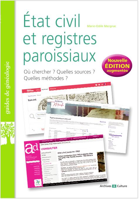 État civil et registres paroissiaux - Nouvelle édition 2020