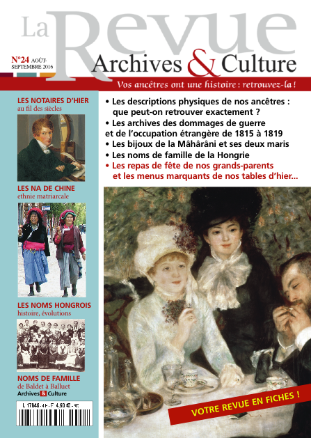 Revue Archives & Culture n° 24