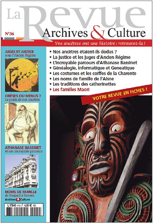 Revue Archives & Culture n° 36