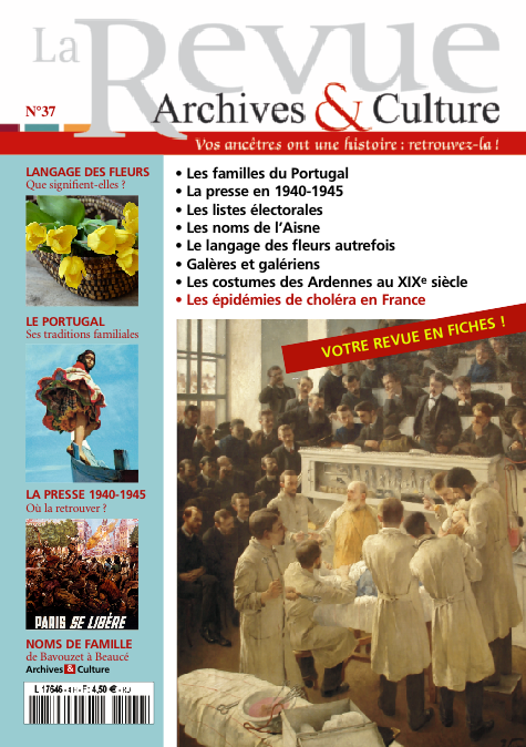 Revue Archives & Culture n° 37