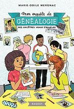 """Roman """"Nos ancêtres venus d'ailleurs"""" (8-11 ans)"""