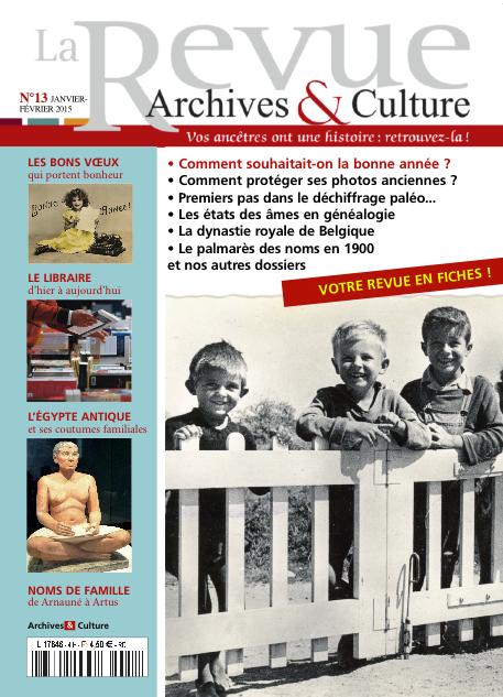 Revue Archives & Culture n° 13