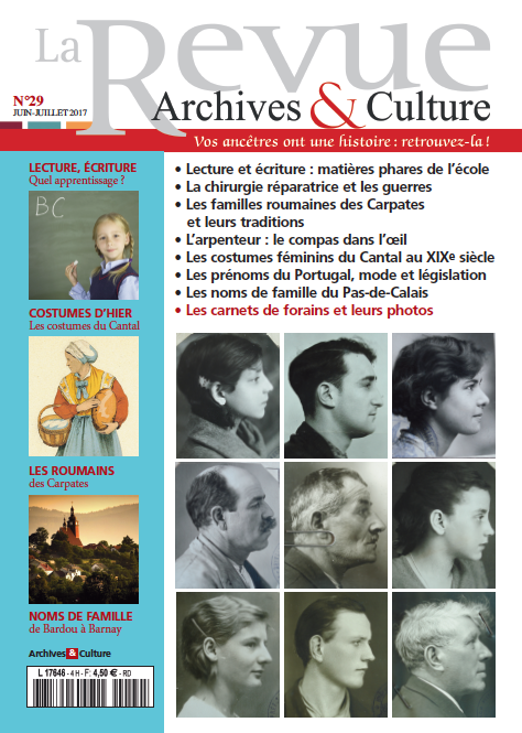 Revue Archives & Culture n° 29