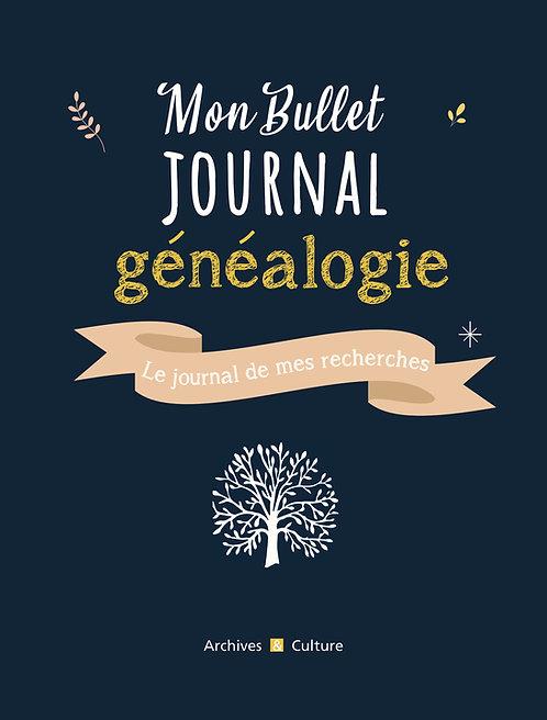 Mon Bullet journal de généalogie