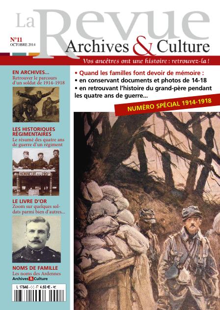 Revue Archives & Culture n° 11