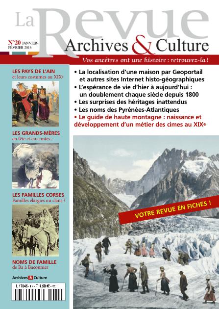 Revue Archives & Culture n° 20