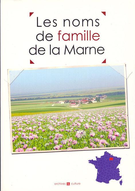 Les noms de famille de la Marne