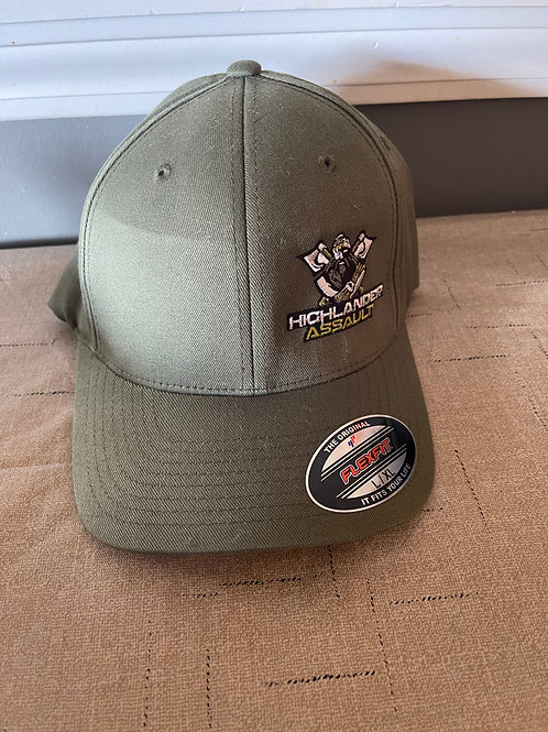 Flexfit Army Green Solid Cap