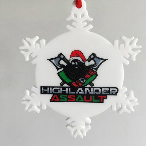 Highlander Assault Christmas Ornament 3 Pack