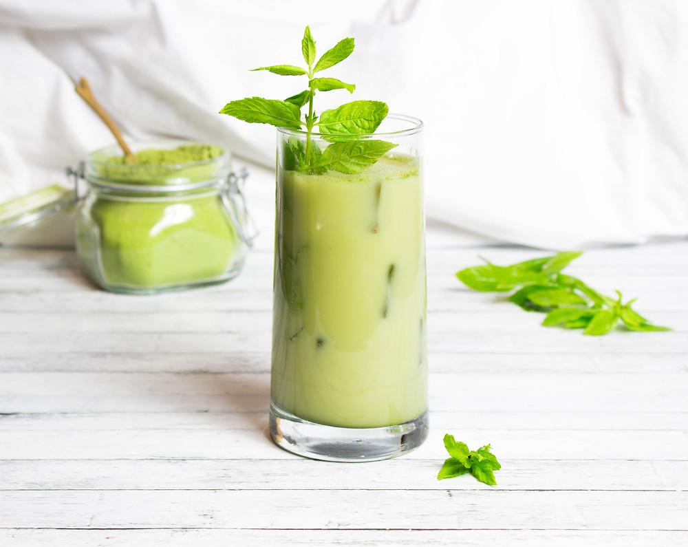 Iced Moringa Ginger Tea