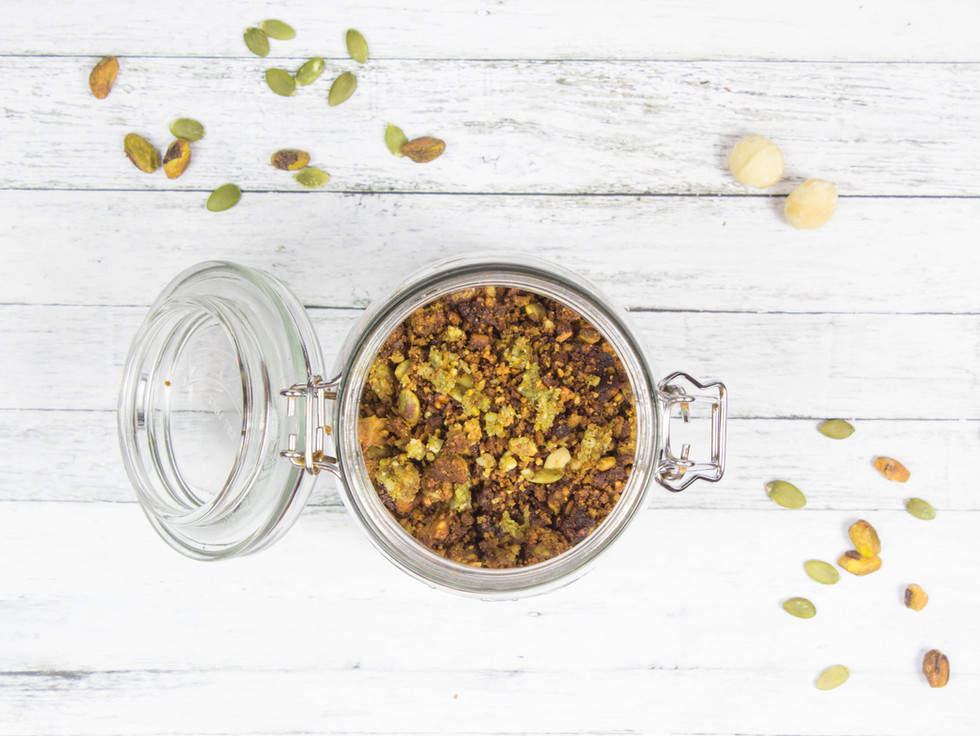 Grain-Free Moringa Granola
