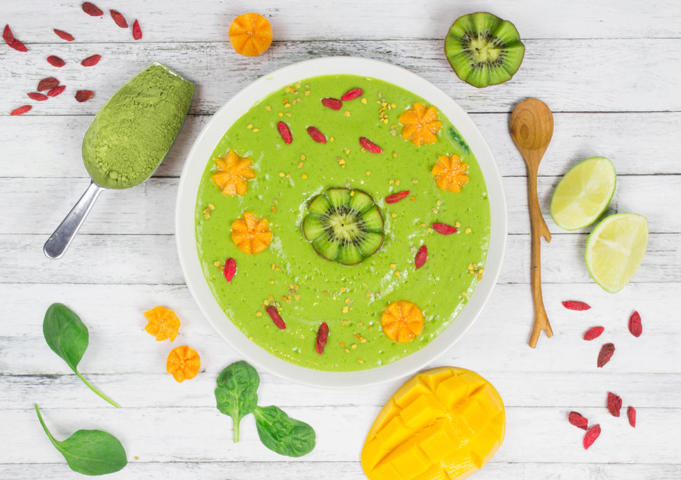 Moringa Lime Smoothie Bowl