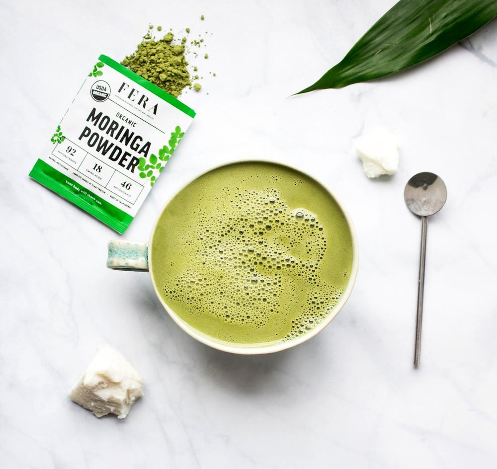 FERA Moringa-Matcha Latte Recipe