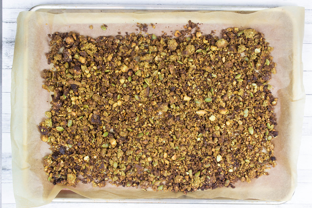 Grain free Moringa granola