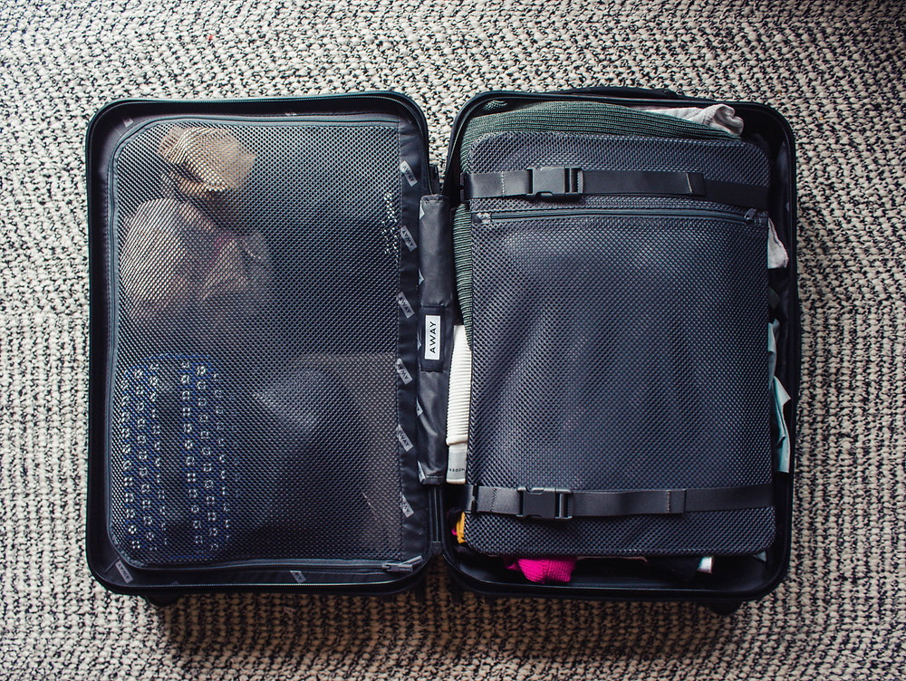Away carry on bag for packing like a pro