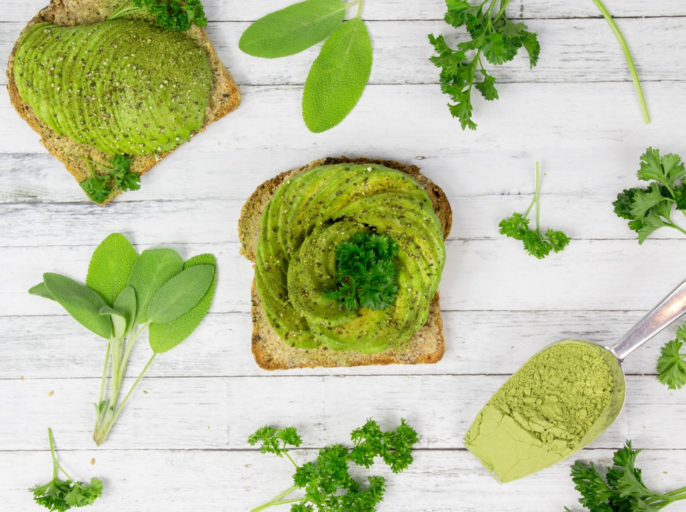Moringa Avocado Toast