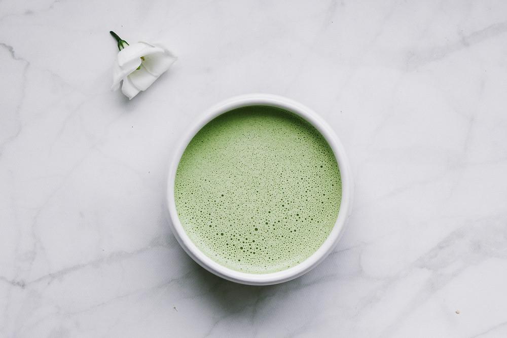 Cashew Butter Moringa-Maca Latte