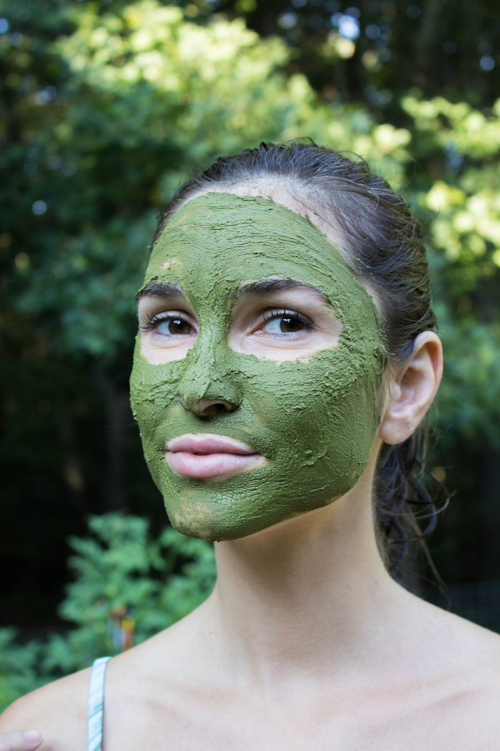 DIY Aztec-Moringa Face-Mask