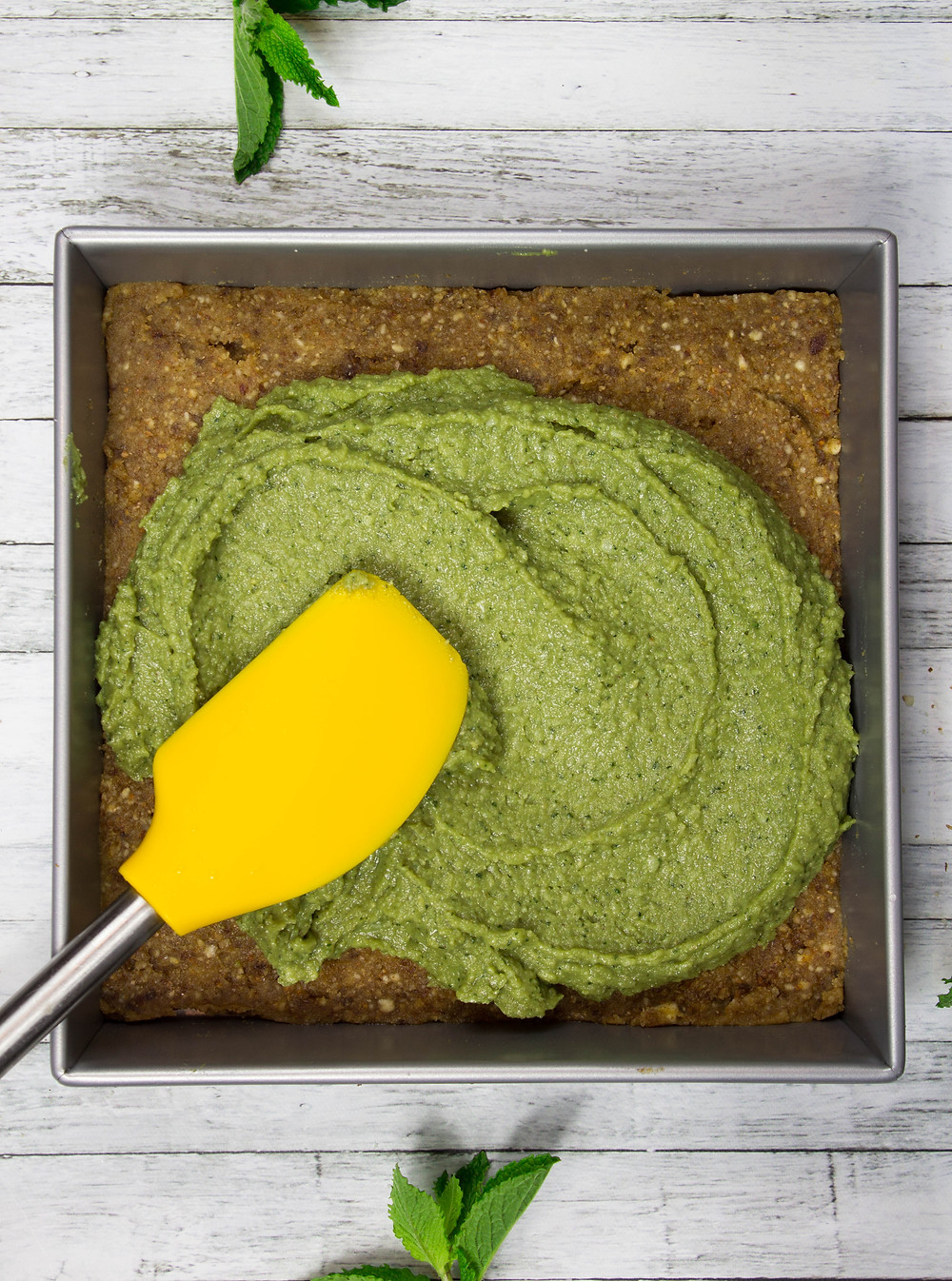 Vegan Raw Moringa-Coconut Brownies