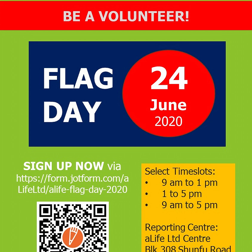 aLife Flag Day 24 June 2020
