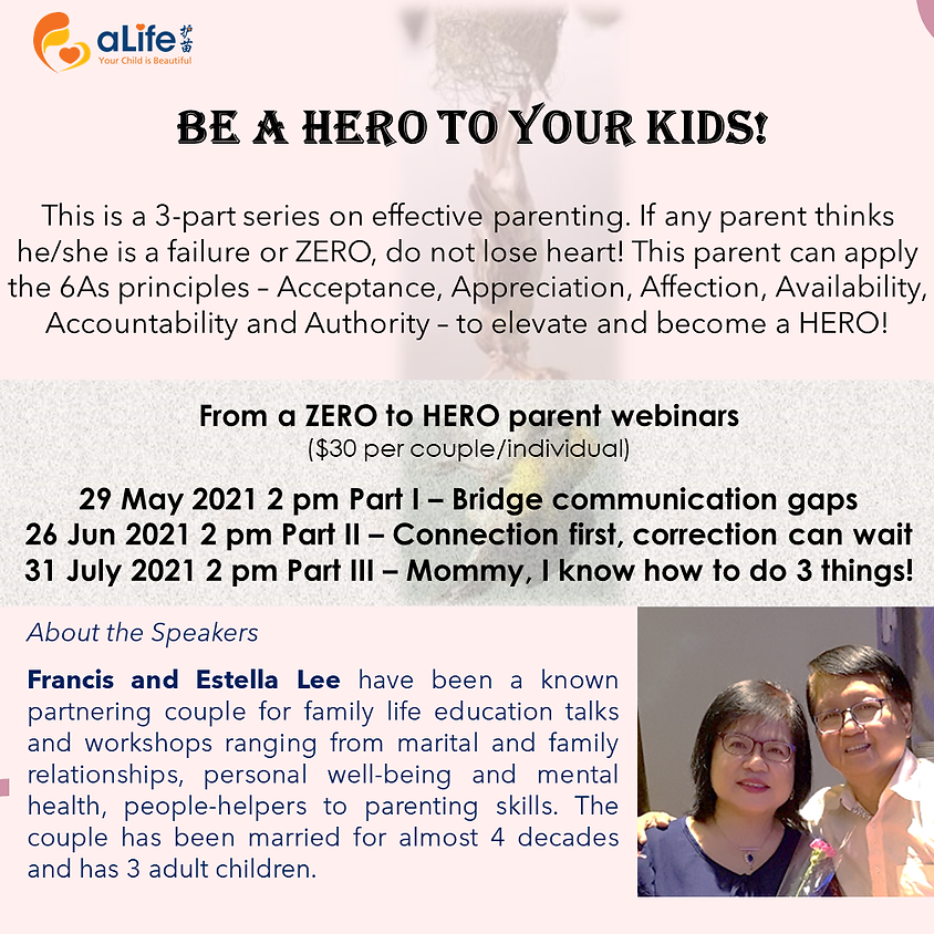 Be a HERO to your Kids!