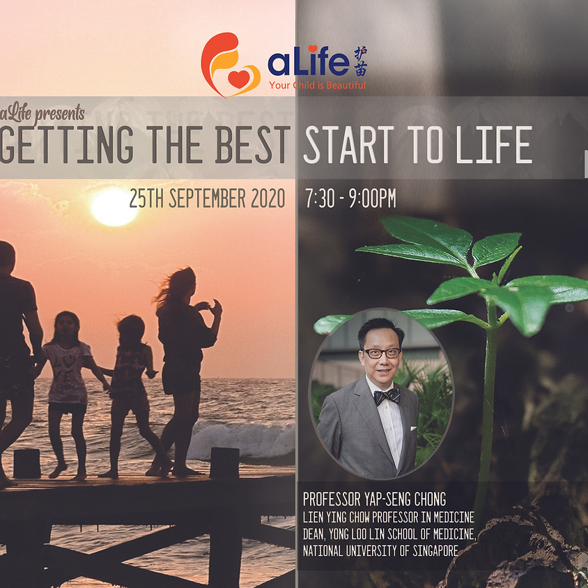 Free Webinar! Getting the Best Start to Life