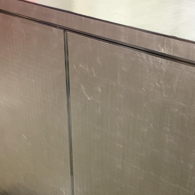 Gilded Crack Gesso Cupboard