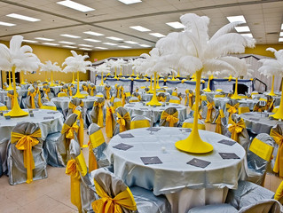 USA - DIY Ostrich Feathers and Centerpiece Rentals, Wedding, Great Gatsby, Birthday, Mardi Gras, FL,