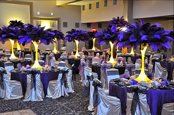 Feather Centerpiece Rental