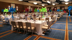 Ostrich feather color Centerpieces