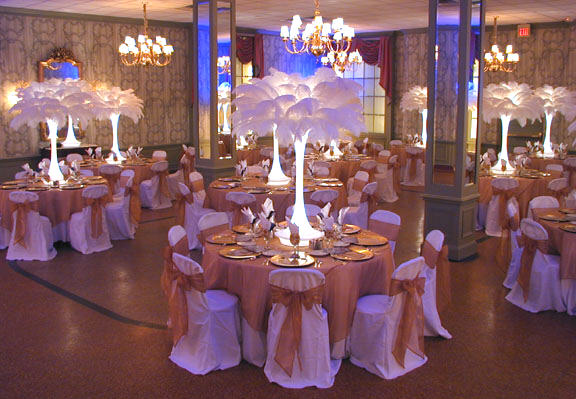 Feather Plume Centerpiece Rentals