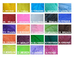 Ostrich feather colors - Rental