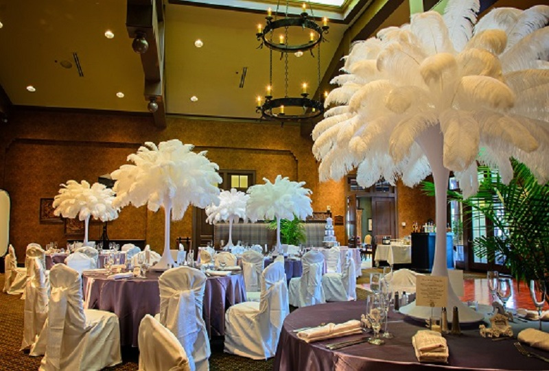 White Feather Wedding