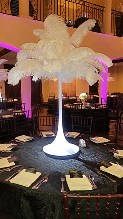 Wedding Centerpieces Ostrich Feather