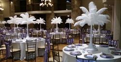 Wedding Ostrich Feather Centerpieces