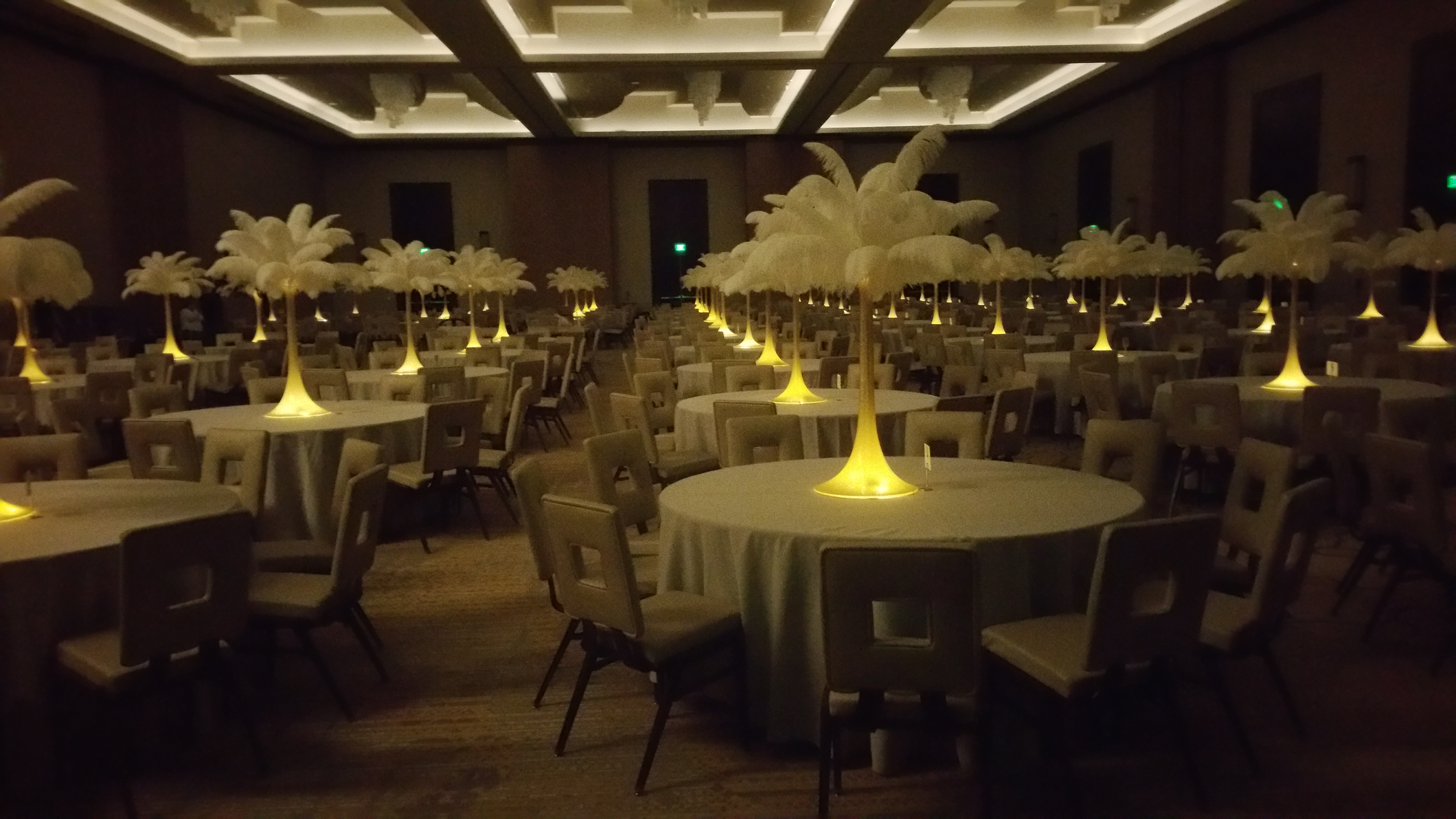 feather.centerpieces rental