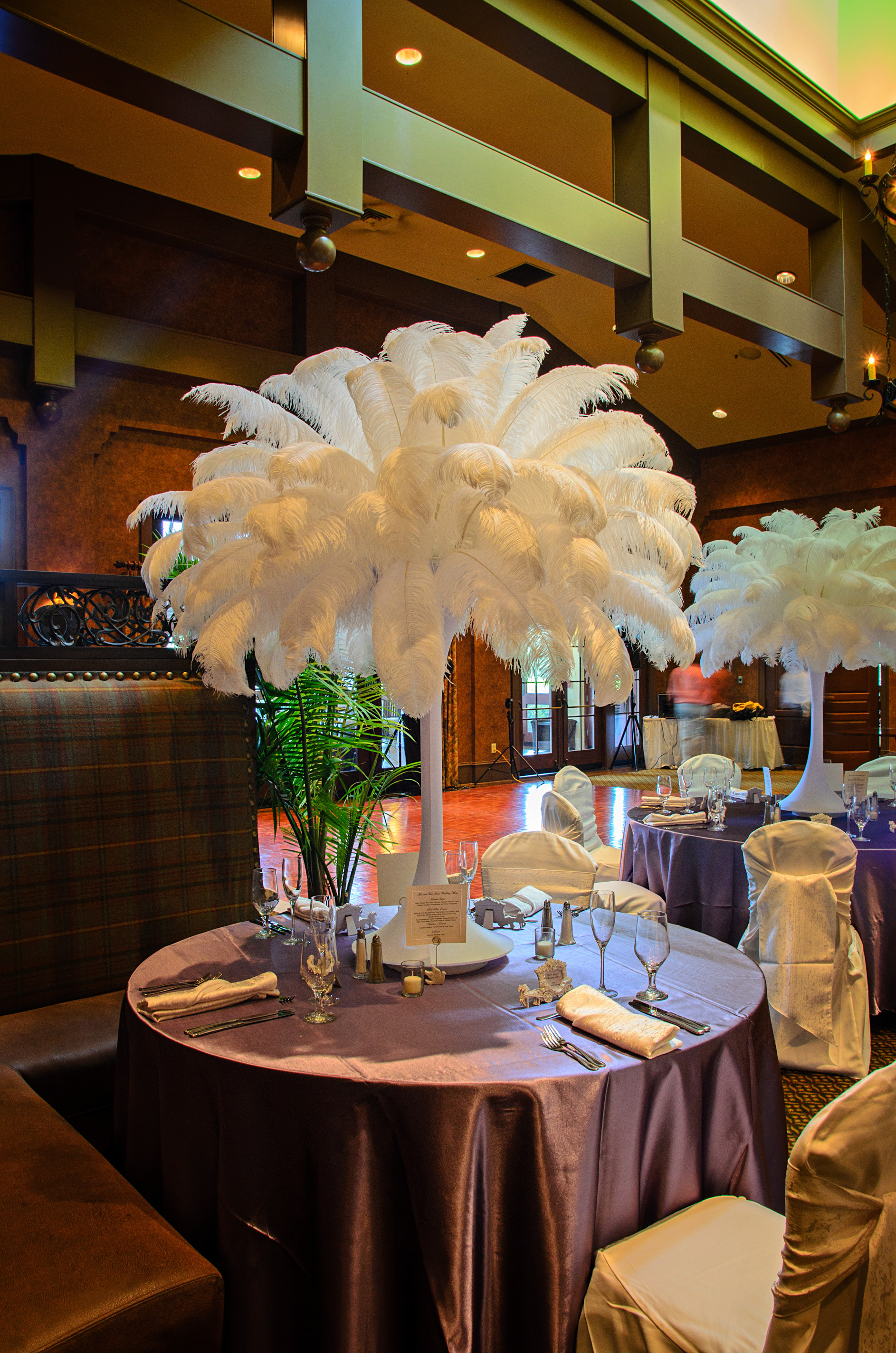 Ostrich Feather Centerpieces Diy Rentals Designer