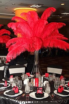 Ostrich Feather Centerpieces Diy Rentals Designer