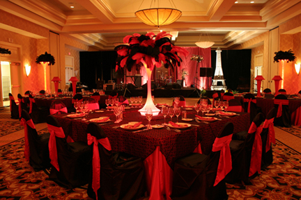 ostrich feather centerpieces rental designer centerpieces rh designercenterpieces com red feather ball centerpieces Feather Table Centerpieces