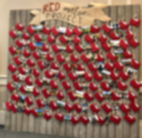 Red Envelope Wall